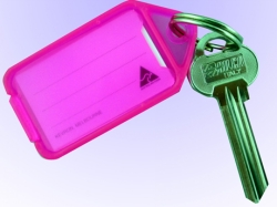 Nyckelbricka BIG 50-pack Neon Rosa 6e29455e63111